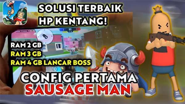 Cara Cheat Config Sausage Man
