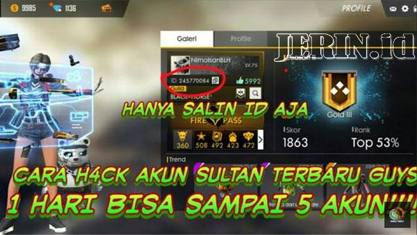 Cara-Hack-Akun-FF-Sultan-Dengan-Salin-ID