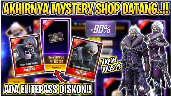 Kapan Mystery Shop FF Rilis Juli 2021