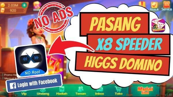 X8 Speeder Higgs Domino Terbaru